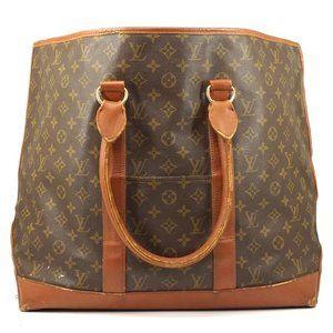 Auth Louis Vuitton Weekend Gm Brown #2508L11